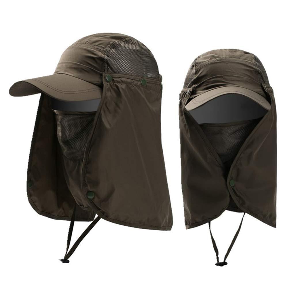 DENOKA(Dinoka)抗帽子釣りキャップUV 99%のUV保護* 360度の速乾性、通気性ユニセックス屋外クライミング自転車旅行のガーデニング帽子を*