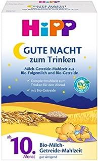 HiPP 喜宝 Bio晚安牛奶麦片粉,10个月以上适用, 4盒(500g*4)