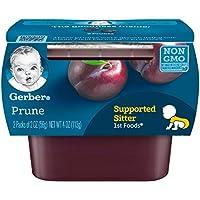 Gerber 嘉宝 一段宝宝辅食水果泥 2盎司(56克)每盒 2提(8个装)