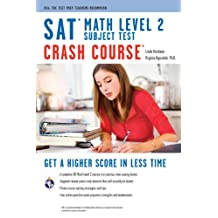 SAT Subject Test: Math Level 2 Crash Course (SAT PSAT ACT (College Admission) Prep) (English Edition)