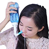 Ceebitoo 美国waterpulse健适宝洗鼻器鼻腔冲洗器盥洗器 手动成人儿童洗鼻壶冲鼻器(送30包专用洗鼻盐)