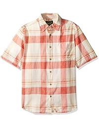 Woolrich 男式 Pepper Creek 现代修身衬衫