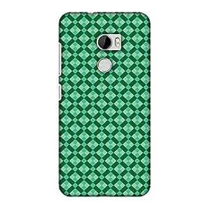 AMZER 修身款手工设计师印花硬壳手机壳后盖 适用于 HTC One X10 - Bloom Where You AreAMZ601040207145 Bold Stripes 1 Bold Stripes 1