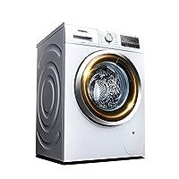 SIEMENS 西门子 8公斤滚筒洗烘一体变频 新3D立体烘干洗衣机WD12G4E01W (亚马逊自营商品,由供应商配送)