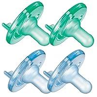 Philips Avent 不含 BPA 的安抚奶嘴,3 个月以上 */蓝色
