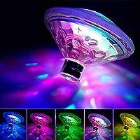 HONUTIGE 泳池灯,变色 LED 浴缸灯,防水浮动灯池塘灯,适用于泳池、池塘、热水浴缸或派对装饰 a 1pc 如图所示 15937681584948