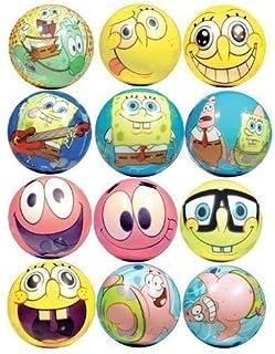 Spongebob Squarepants Party Favors - 柔软泡沫图形球 20 个装 SpongeBob SquarePants 出品