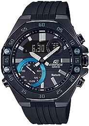 CASIO卡西欧 Edifice 全时间智能手机链接计时码表 黑色手表 ECB10PB-1A