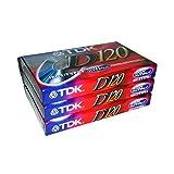 TDK Dynamic Performance D120 高输出 IEC I/I 型 - 3 片装音频盒带