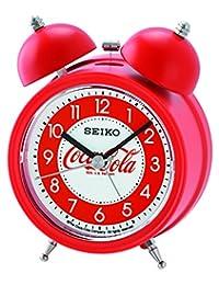 Seiko 可口可樂鈴鬧鐘 - 紅色 13.5 x 9.5 x 6 cm QHK905R