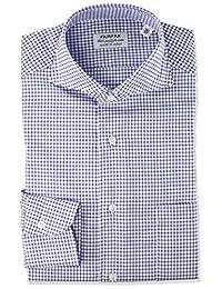 FAIRFAX 衬衫 定型加工面料 格子格子布 9602 男士