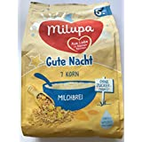 Milupa Gute Nacht Milchbrei 7 Korn, 5er Pack (5 x 400 g)