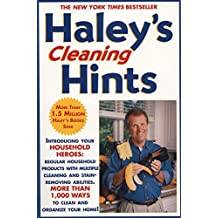 Haley's Cleaning Hints (English Edition)