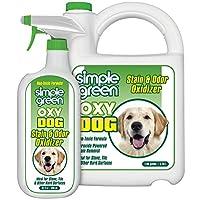 简单* Oxy 狗狗染色剂和气味氧化剂 – 用于尿液、指尖、呕吐物、水滴 Colorless TO Pale Straw 1 gallon + 32 oz