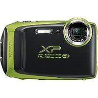 Fujifilm FinePix XP130 防水数码相机,带 16GB SD 卡600019825 底部 2.78x 4.34x 1.26 莱姆绿