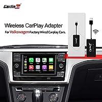 Carlinkit 2.0 无线 CarPlay 适配器 USB 加密狗 有线至无线 CarPlay 功能 在线*系统(大众汽车)