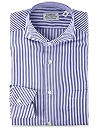 FAIRFAX 衬衫 采用形态稳定加工面料的伦敦条纹雕花9600 男士