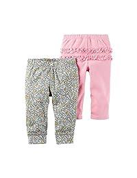 Carter ' s 女童2件套褶皱裤