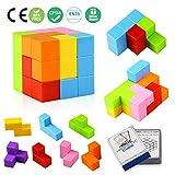 Aitey 磁性积木,儿童磁性砖*玩具,*玩具,方形磁铁,立方体开发* 多种颜色