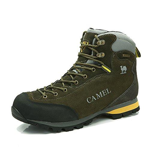 Camel 骆驼 户外男款登山鞋 秋冬新品高帮防水袜套耐磨登山鞋男A432026035