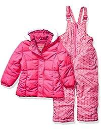 Pink Platinum 女童保暖两件套防雪服