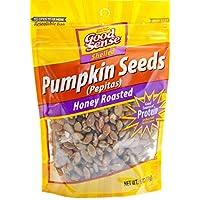 Good Sense Honey Roasted Pepitas Pumpkin Seeds, 6 Ounce