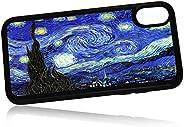 (适用于 iPhone X)手机壳后盖 - HOT0293 星空夜厢式梵高