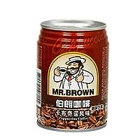 伯朗咖啡 卡布奇诺风味咖啡饮料 即饮品 240ml/罐装