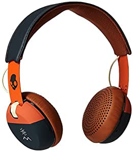 Skullcandy Grind Headphone with Mic (Explore Orange and Navy)