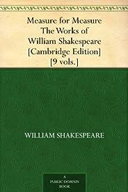 Measure for Measure The Works of William Shakespeare [Cambridge Edition] [9 vols.] (一报还一报) (免费公版书) (English Ed