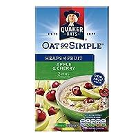 Quaker 桂格 樱桃苹果味水果燕麦片 289g(英国进口)