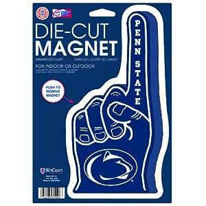 NCAA Penn State Nittany Lions Die Cut #1 Finger Logo Magnet