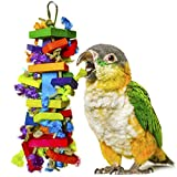 SunGrow 鸟咀嚼玩具 - 用于物理和心理*-Being of Your Parrots - 尖头保持喙修剪 - 养殖保持羽毛清洁