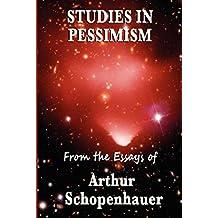 Studies in Pessimism (English Edition)