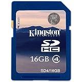 Kingston 金士顿 16G SDHC Class4 SD卡