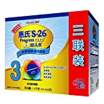 惠氏 Wyeth S-26金装幼儿乐幼儿配方奶粉 (3段)(12个月-36个月幼儿适用)1200克(400克*3袋)