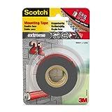 Scotch 思高双面安装胶带 非常牢固 灰色 19mm x 1.5m