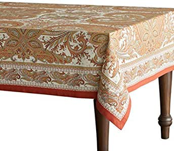 "Maison d' Hermine Kashmir Paisley * 纯棉桌布 多种颜色 60""x108"" FBA_B01CJID336"