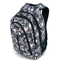 儿童书包、带可调节衬垫肩带的重型包、大主隔层舒适、炫酷印花、手提书、笔记本电脑、旅行、户外