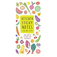 Kitchen Sticky Notes + To-Do Lists: 250 Notes to Keep You Organized
