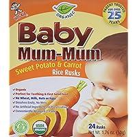 Hot-Kid Baby Mum Original 口味大米饼干 144份