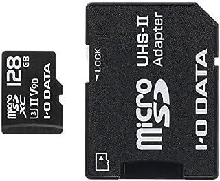 I-O DATA microSD存储卡/速度等级3对应/UHS-II UHS/1年保修/MSDU23系列MSDU23-128G  128GB
