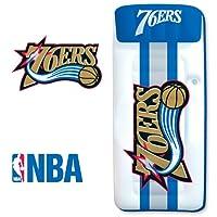 Poolmaster San Antonio Spurs NBA 游泳池漂浮,豪华漂水 Giant Mattress Philadelphia 76ers