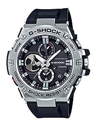 CASIO 卡西欧 日本品牌 G-SHOCK系列 石英男士手表 GST-B100-1A