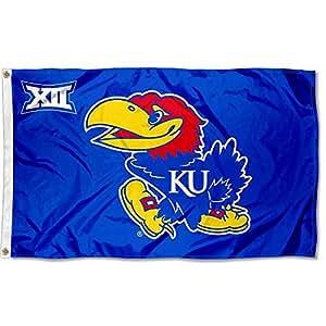 大学旗帜和横幅有限公司堪萨斯大学鹰队 12 3x5 旗帜