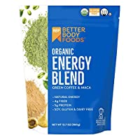 BetterBody Foods & Nutrition *能量混合*咖啡和金刚玉,12.7 盎司