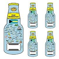 Rockin Gear Magnet 啤酒開瓶器 巴哈馬群島官方藍色地圖設計磁鐵開瓶器(巴哈馬)