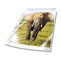 耐用的 265919 文件保护套(DIN A4 标准)100 个,透明 Business (60my) 透明