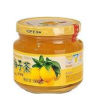 韩今(韩国) 蜂蜜柚子茶300g(韩国进口)(亚马逊自营商品, 由供应商配送)