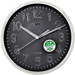 Timess  15英寸钛金质感清晰简约挂钟 T318 珠光金色(直径约:38厘米)
